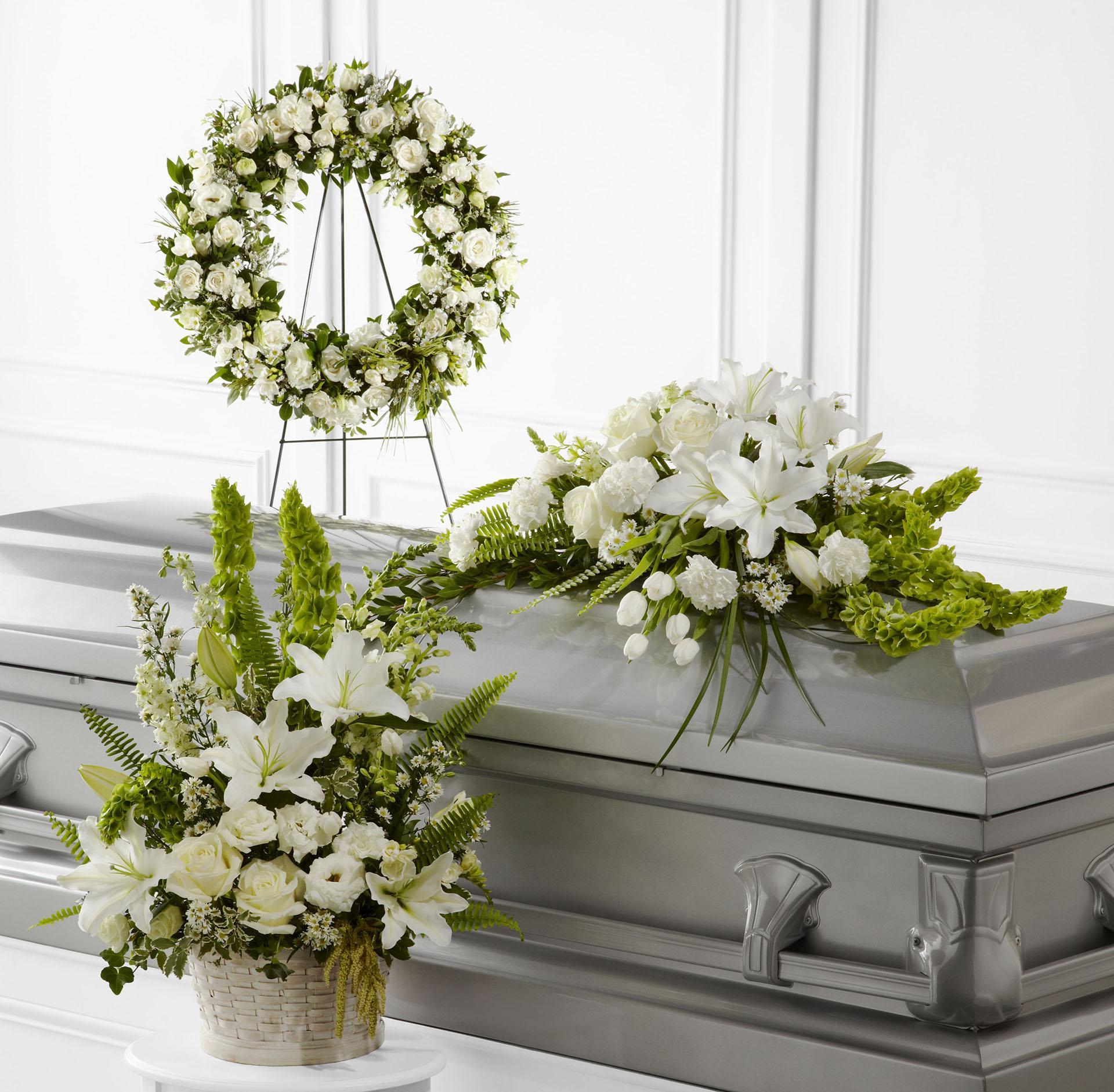 types-of-funeral-flower-arrangements